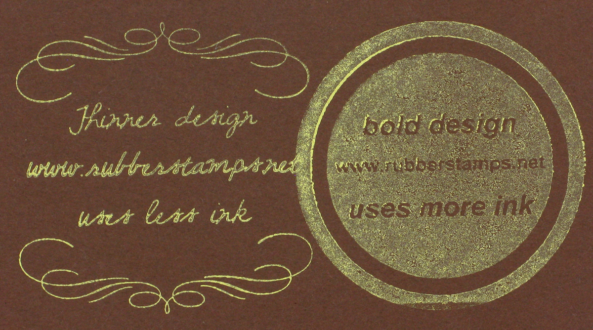 Metallic Ink Stamp Pads - Available in Gold, Silver, Copper