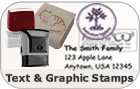 Text and Graphic Stamps