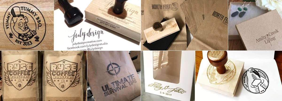 Custom Art Rubber Stamps | Custom Wood Stamps | Personalize and Order Online | Customize Wooden Stamps with Text, Images, Art and More