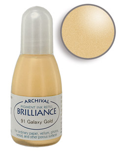 Brilliance Galaxy Gold Re-Inker