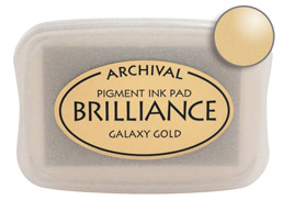 Brilliance Galaxy Gold Ink