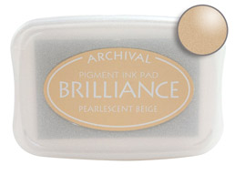 Brilliance Beige Stamp Ink Pad