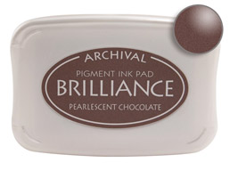 Brilliance Chocolate Stamp Ink Pad
