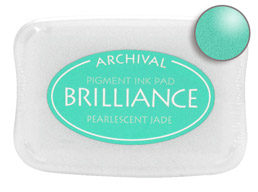 Brilliance Jade Stamp Ink Pad