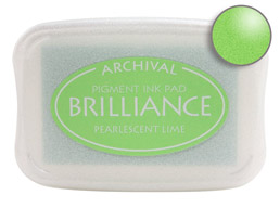 Brilliance Lime Ink - Stamp pad