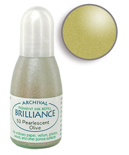 Brilliance Olive Re-Inker