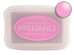 Brilliance Orchid Stamp Ink Pad