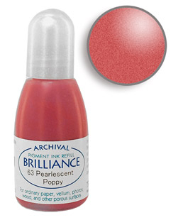 Brilliance Poppy Re-Inker