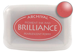 Brilliance Poppy Stamp Ink Pad