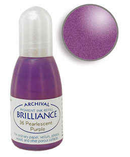 Brilliance Purple Re-Inker