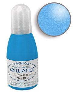 Brilliance Sky Blue Re-Inker