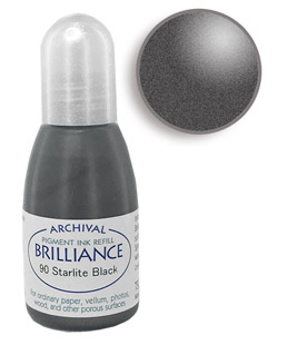 Brilliance Starlite Black Re-Inker