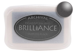 Brilliance Starlite Stamp Ink Pad