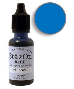 StazOn Azure Re-Inker