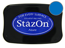 StazOn Azure Ink - Stamp pad