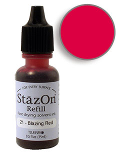StazOn Red Re-Inker