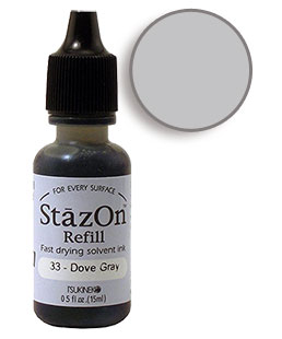 StazOn Dove Gray Re-Inker