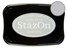 StazOn Dove Gray Ink - Stamp pad