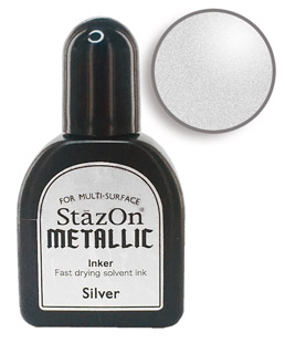 StazOn Silver Re-Inker