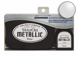StazOn Silver Ink Set Stamp pads