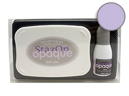 StazOn Opaque Soft Lilac Set