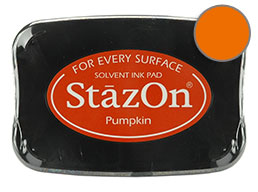 StazOn Pumpkin Ink - Stamp pad