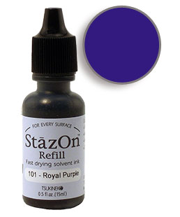 StazOn Royal Purple Ink Refill