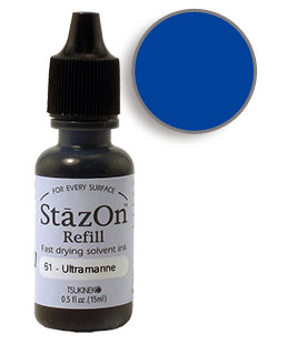 StazOn Blue/Ultramarine Re-Inker