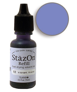StazOn Vibrant Violet Re-Inker