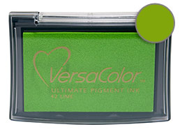 Versacolor Lime Pigment Ink - Stamp pad