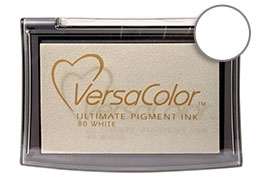 Versacolor White Pigment Stamp Pad