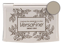 Versafine Smokey Gray Pigment Pad - Stamp Pad