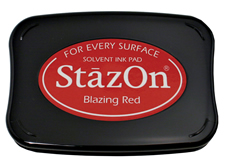 Stazon Blazing Red Ink Pad