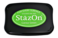 Stazon Cactus Green Ink Pad
