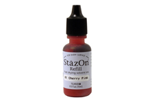 Stazon Cherry Pink Refill Ink
