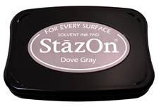 Stazon Dove Gray Ink Pad