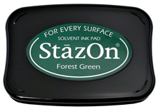 Stazon Forest Green Ink Pad