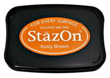 Stazon Rusty Brown Ink Pad