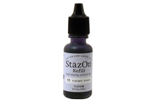 Stazon Vibrant Violet Refill Ink