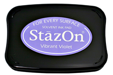 Stazon Vibrant Violet Ink Pad