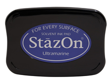Stazon Ultramarine Blue Ink Pad