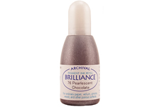 Brilliance Chocolate Pearlescent Refill Ink
