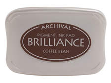 Brilliance Coffee Bean Pearlescent Ink Pad