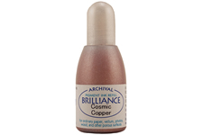 Brilliance Cosmic Copper Pearlescent Refill Ink