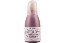 Brilliance Crimson Pearlescent Refill Ink