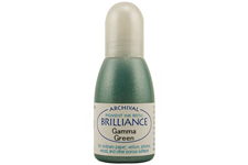 Brilliance Gamma Green Pearlescent Refill Ink
