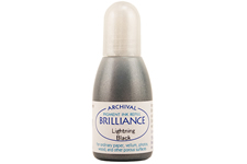 Brilliance Lightning Black Pearlescent Refill Ink