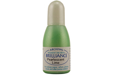 Brilliance Pearlescent Lime Refill Ink
