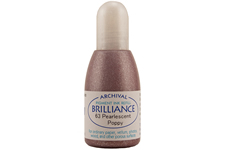 Brilliance Poppy Pearlescent Refill Ink