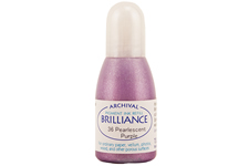 Brilliance Purple Pearlescent Refill Ink
